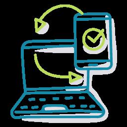 mobile-to-desktop icon