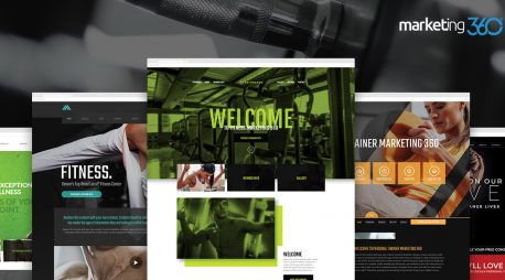 9 Best Fitness Website Design Templates for 2019
