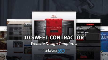 10 Sweet Contractor Website Design Templates