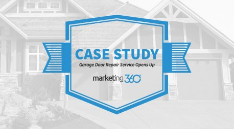 Case Study:  Garage Door Repair Service Opens Up Conversion Rates