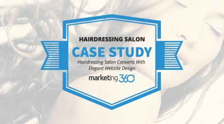 Case Study:  Hairdressing Salon Converts With Elegant Website Design