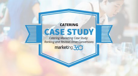 Catering Marketing Case Study:  Ranking and Reviews Drive Conversions