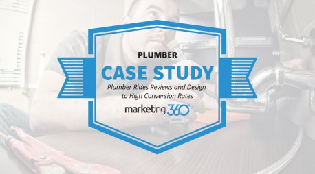 Case Study:  Plumber Rides Reviews and Design to High Conversion Rates