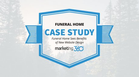 Case Study:  Funeral Home Sees Benefits of New Website Design