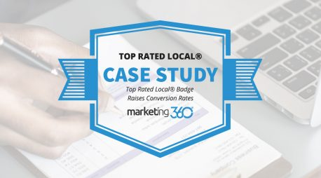 Case Study:  Top Rated Local® Badge Raises Conversion Rates
