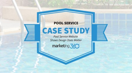 Case Study:  Pool Service Website Shows Design Does Matter