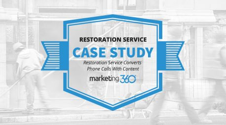 Case Study:  Restoration Service Converts Phone Calls With Content
