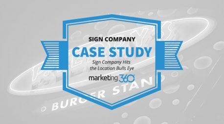 Case Study:  Sign Company Hits the Location Bulls Eye