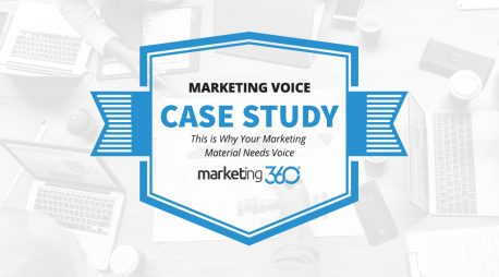 Case Study:  This is Why Your Marketing Material Needs Voice