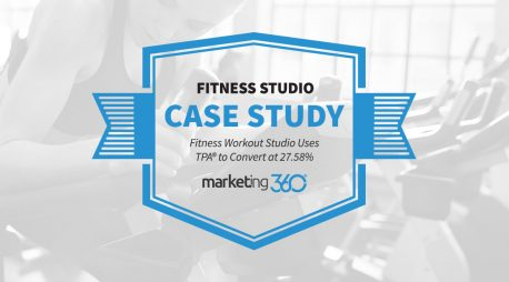 Case Study:  Fitness Workout Studio Uses TPA® to Convert at 27.58%