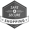 Safe and Secure Shopping badge