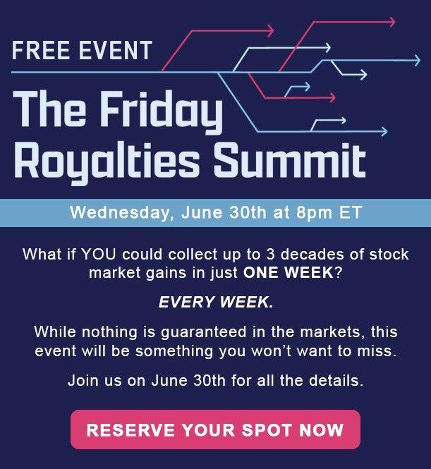 The Fridays Royalties Summit