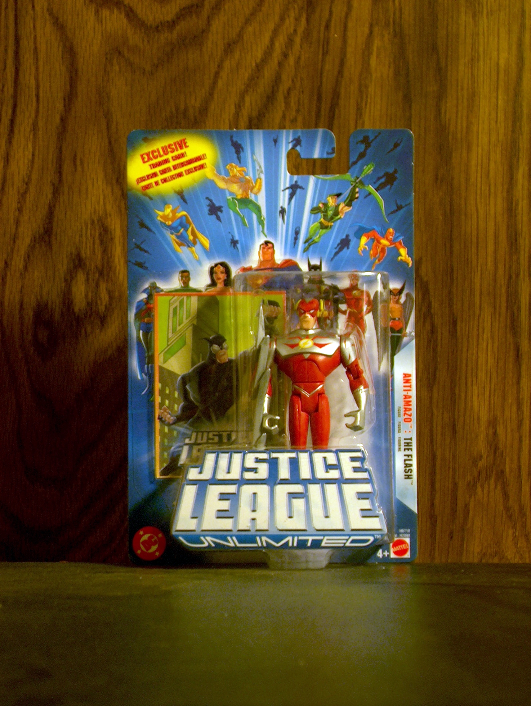 Justice League Unlimited Anti-Amazo: The Flash