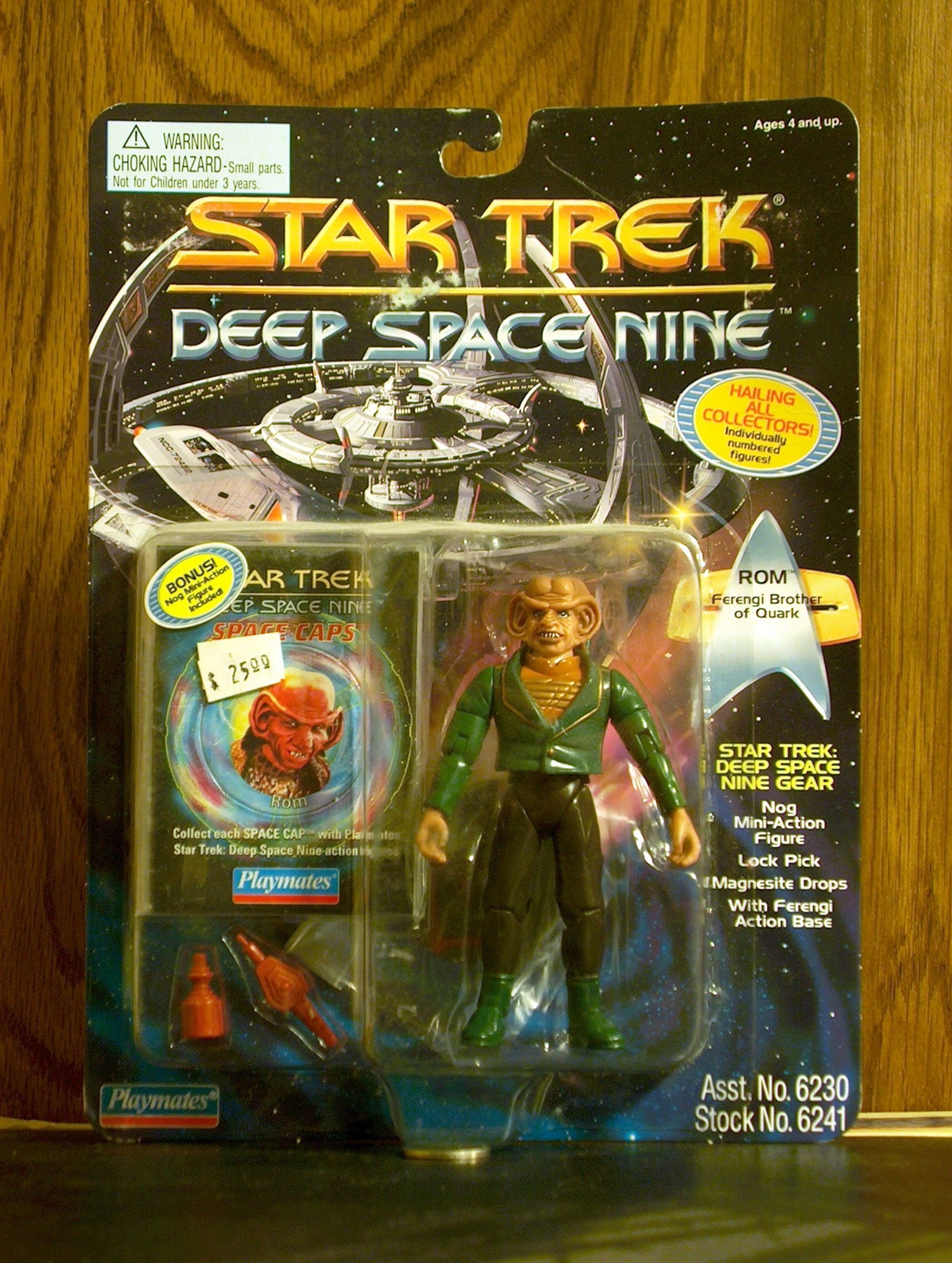 Rom Ferengi Brother of Quark