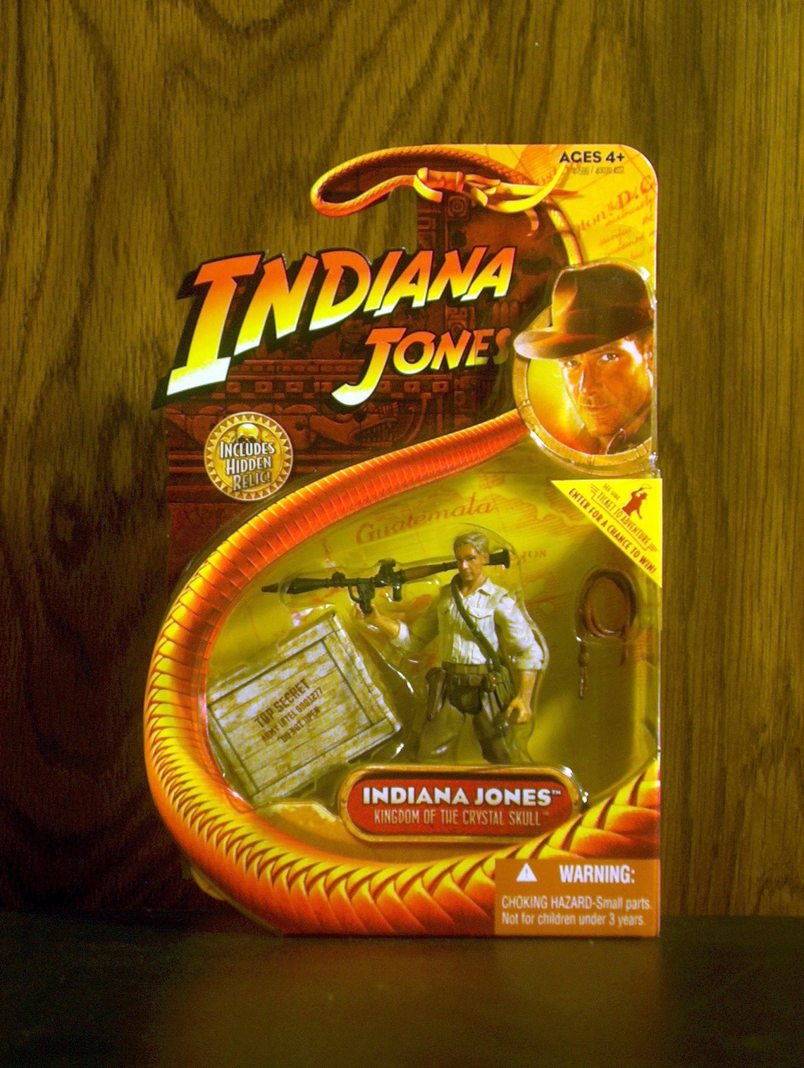 Indiana Jones (with bazooka and whip)