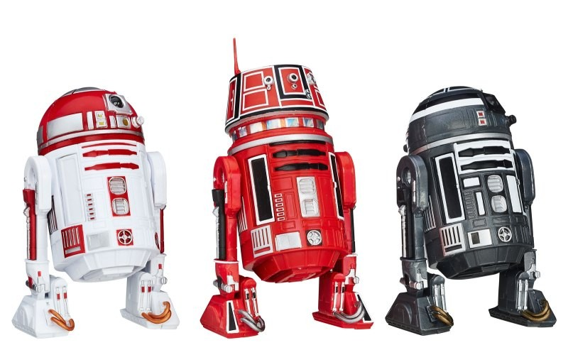 Star Wars Black Series R2-A3 R5-K6 R2-F2 droids 3pk toysrus exclusive  Hasbro