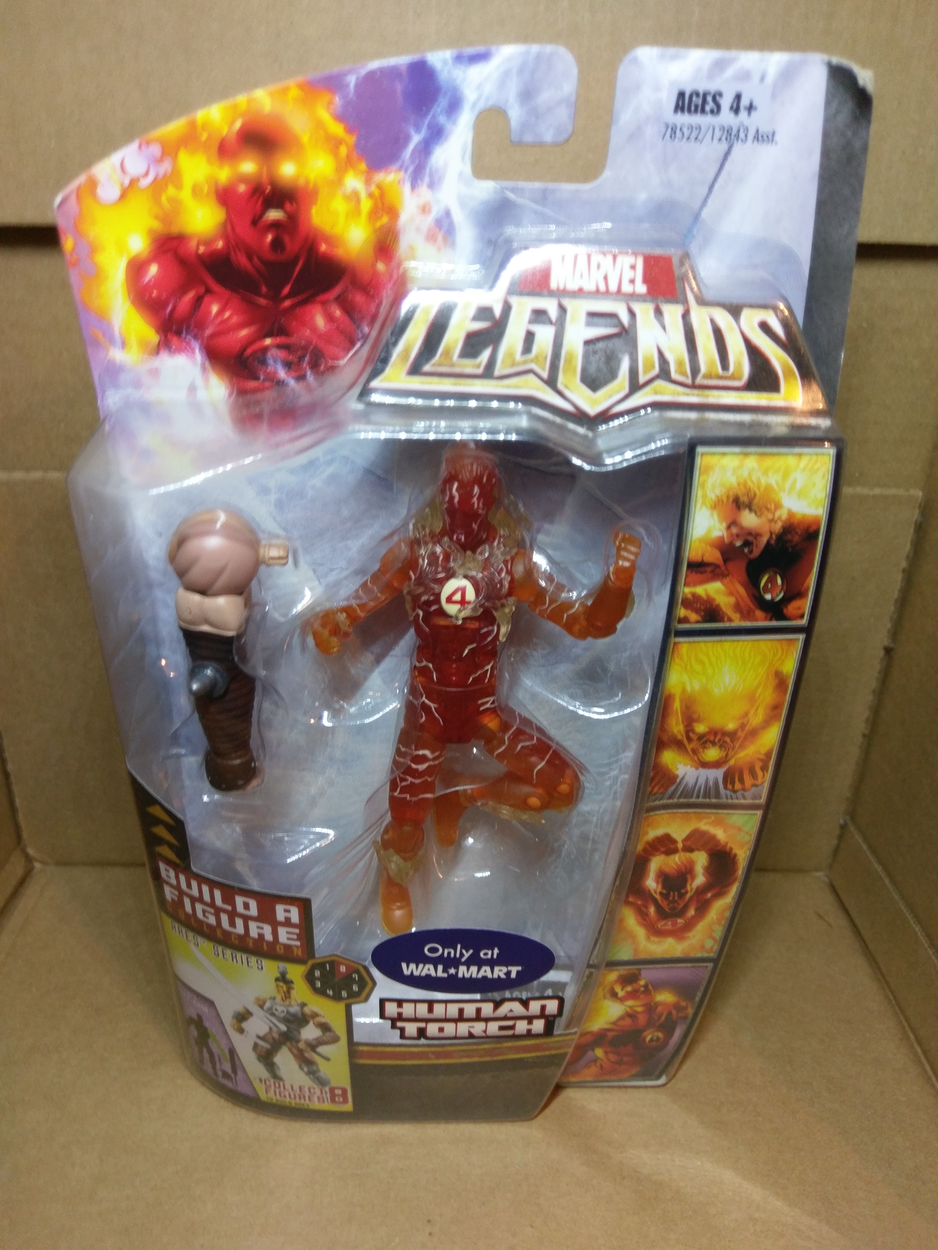Fantastic Four (Human Torch) (Variant) (Wal-Mart Exclusive)
