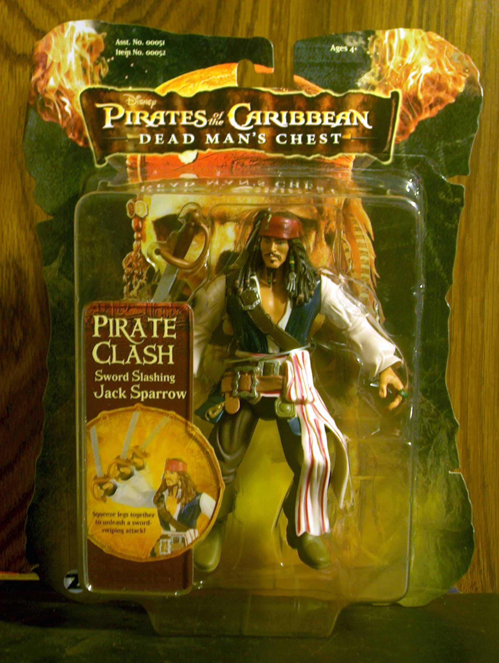 Jack Sparrow (Sword Slashing)