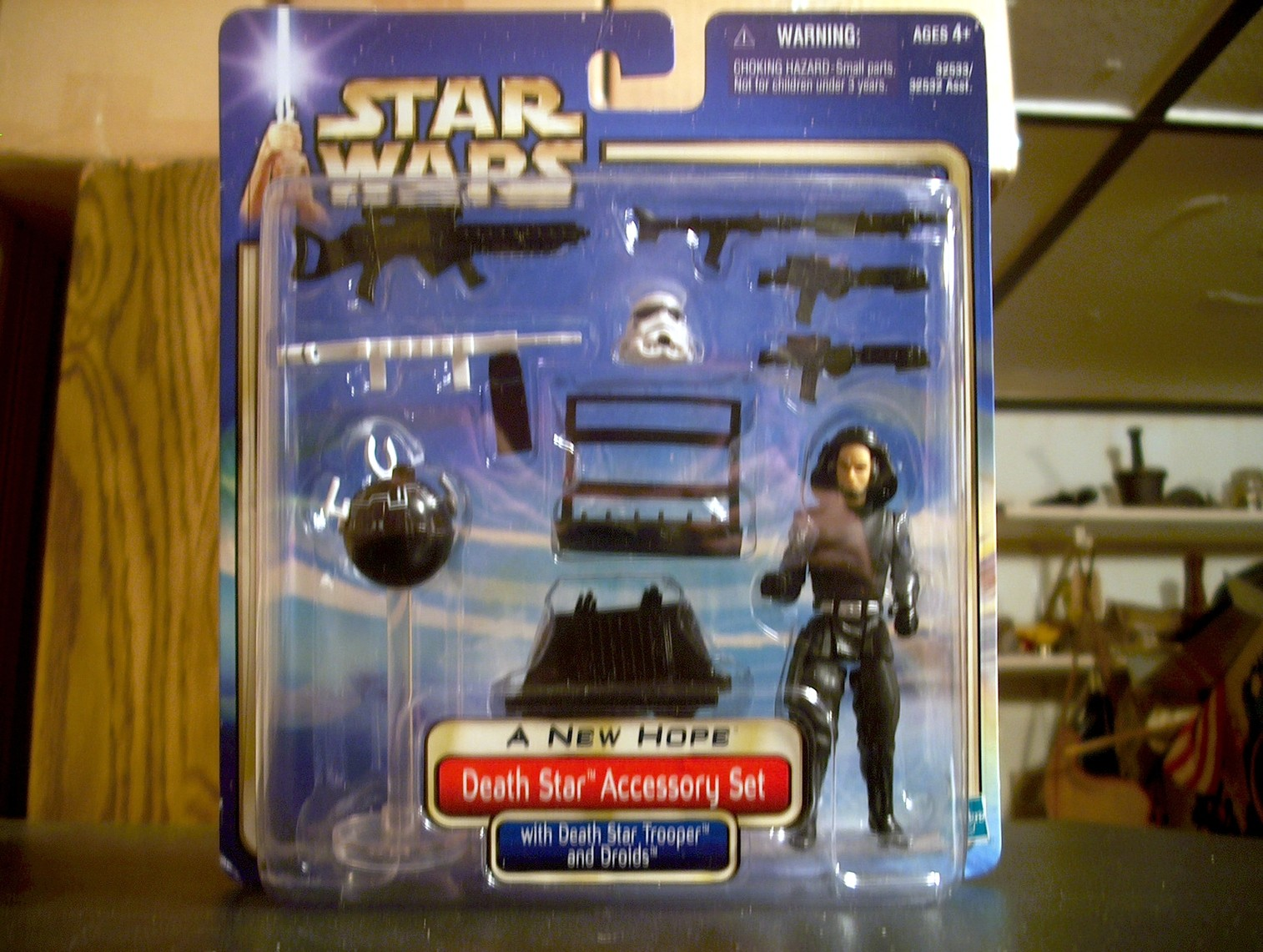 Death Star Accessory Set with Death Star Trooper and Droids