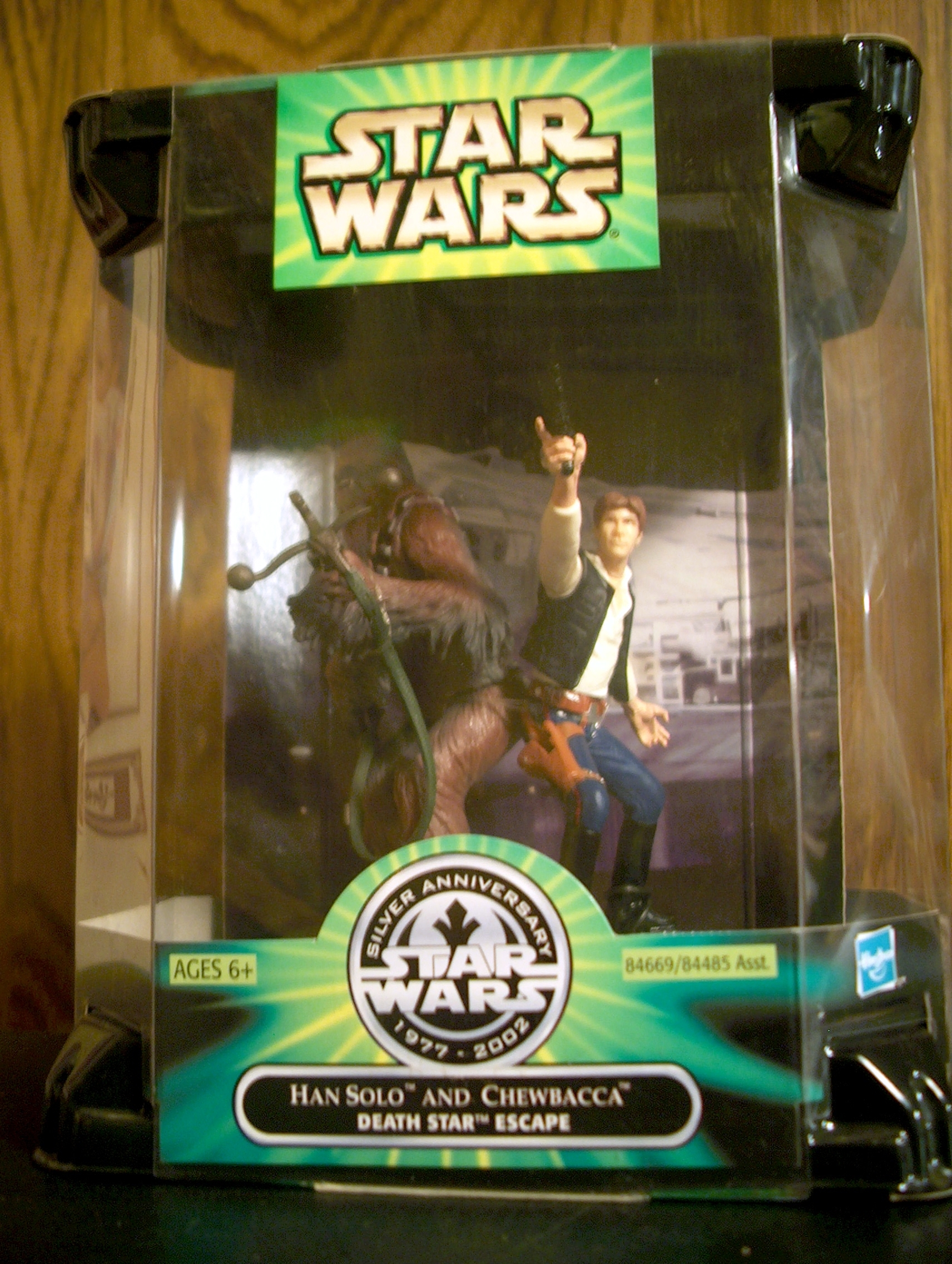 Han Solo and Chewbacca - Death Star Escape (2 Pack)