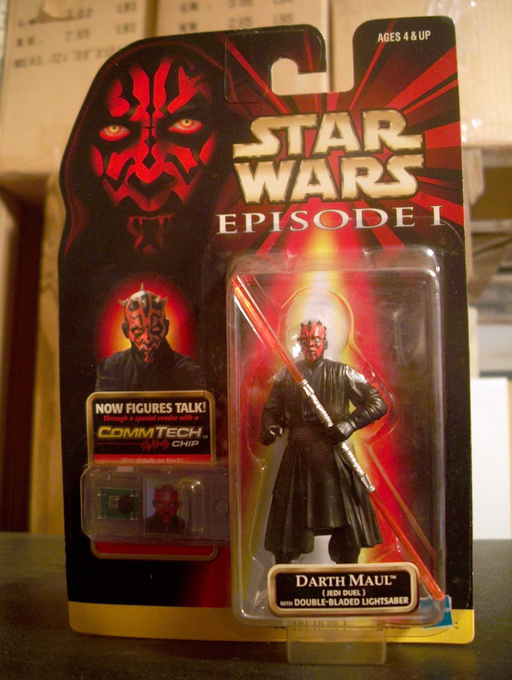 Darth Maul (Jedi Duel) with Double-Bladed Lightsaber (Gray Vest)