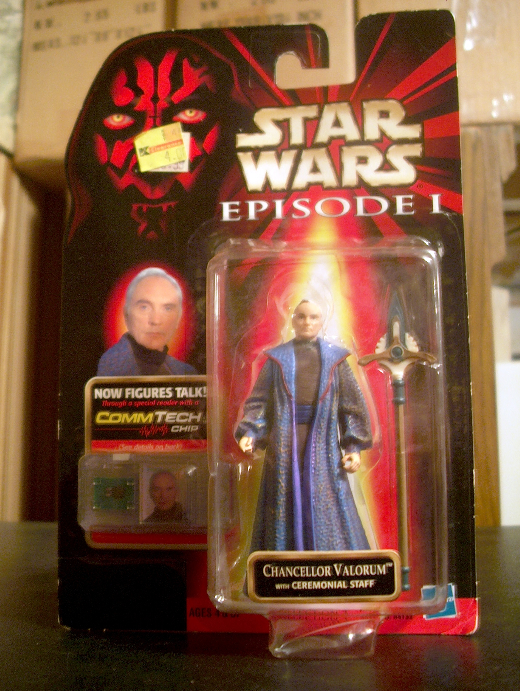 Chancellor Valorum™ with Ceremonial Staff (