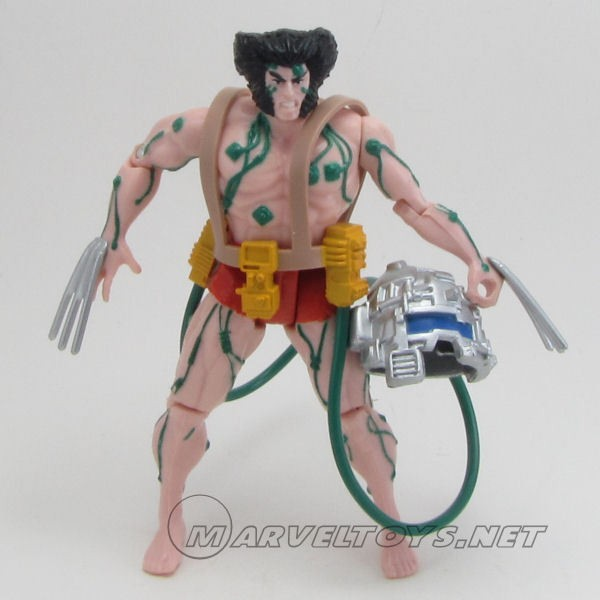 Wolverine - 4th Edition - Weapon X (Green Cables)