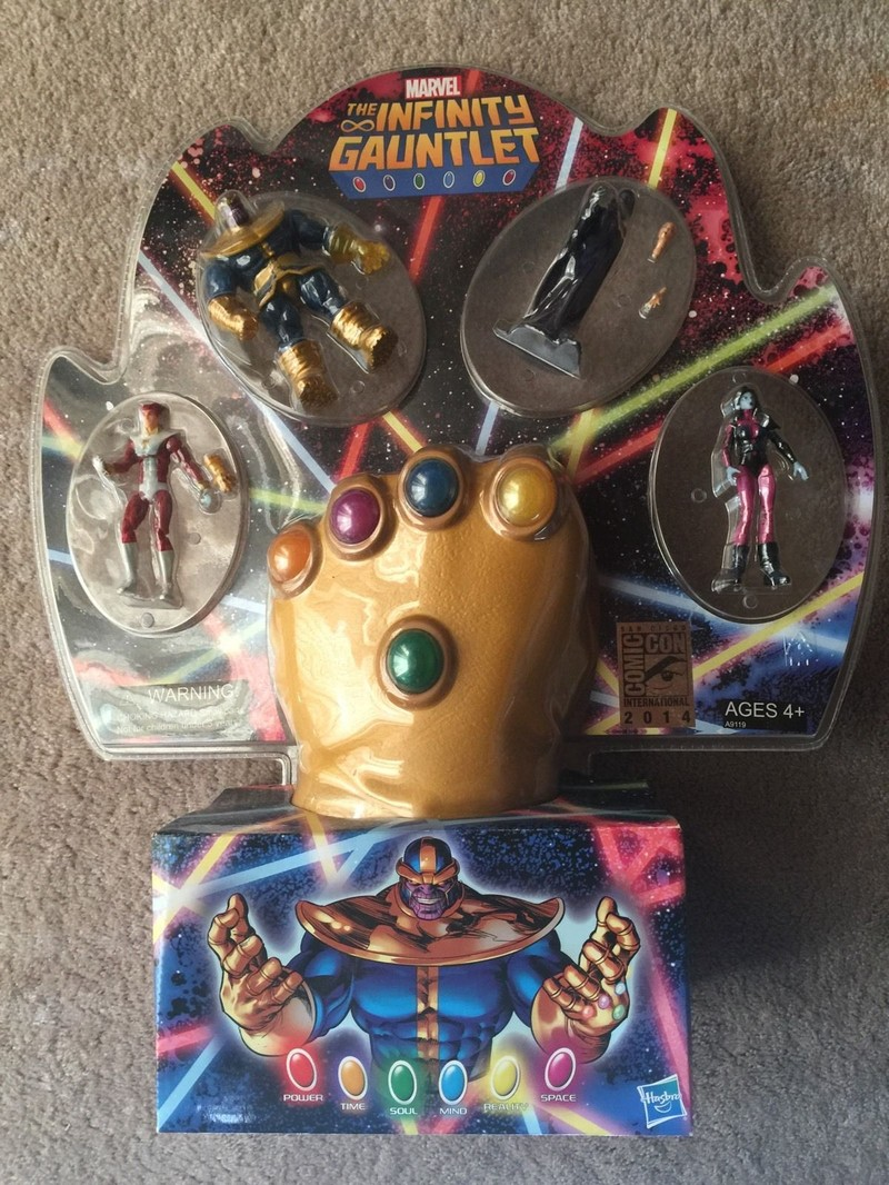 SDCC The Infinity Gauntlet 4-Pack