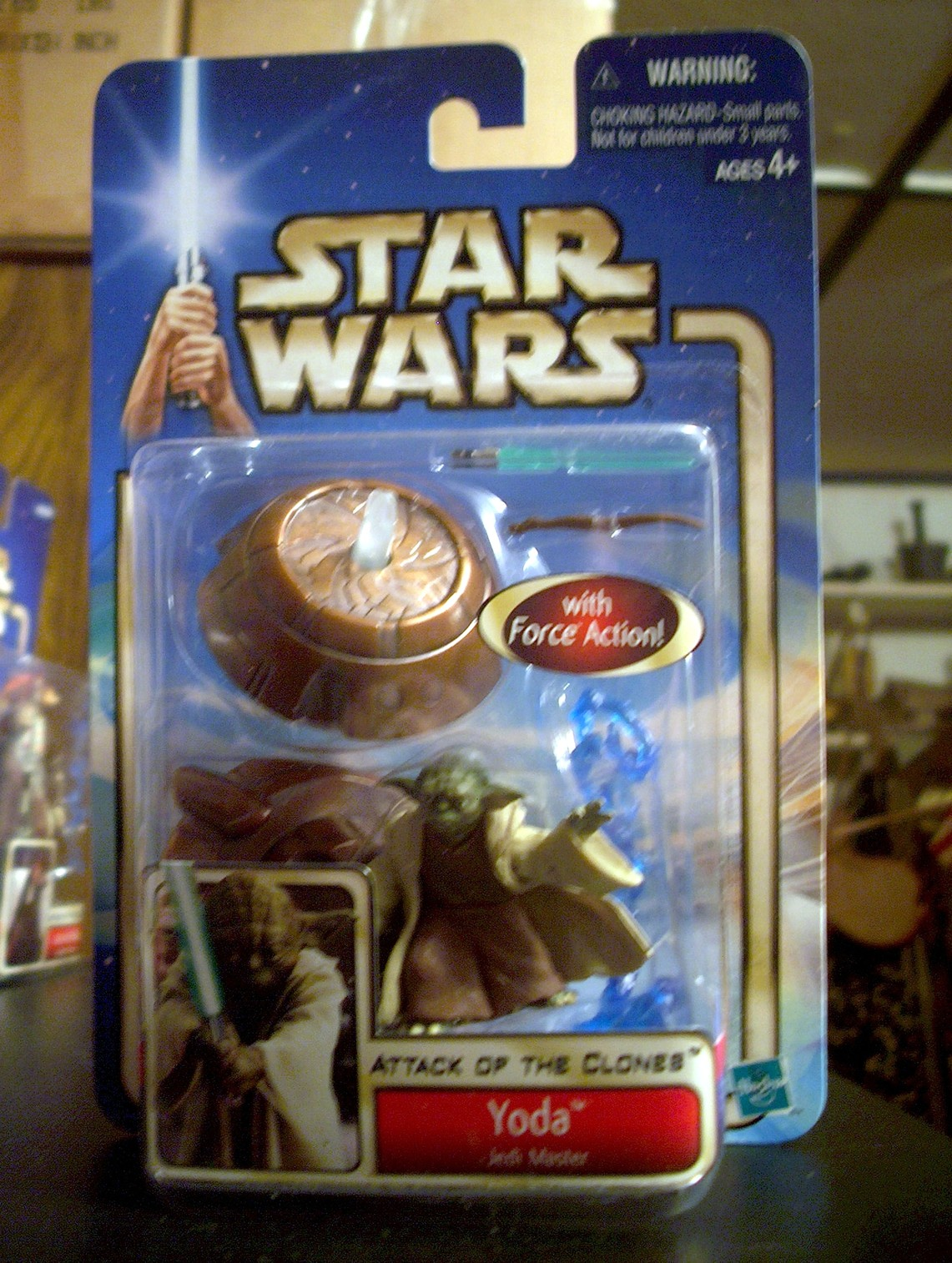 Yoda - Jedi Master - with Force Action!