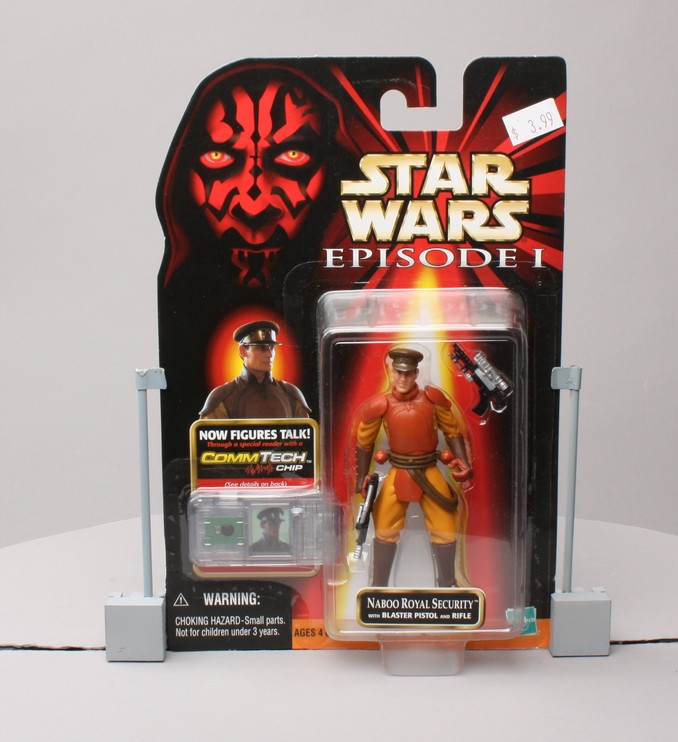 Naboo Royal Security with Blaster Pistol and Rifle