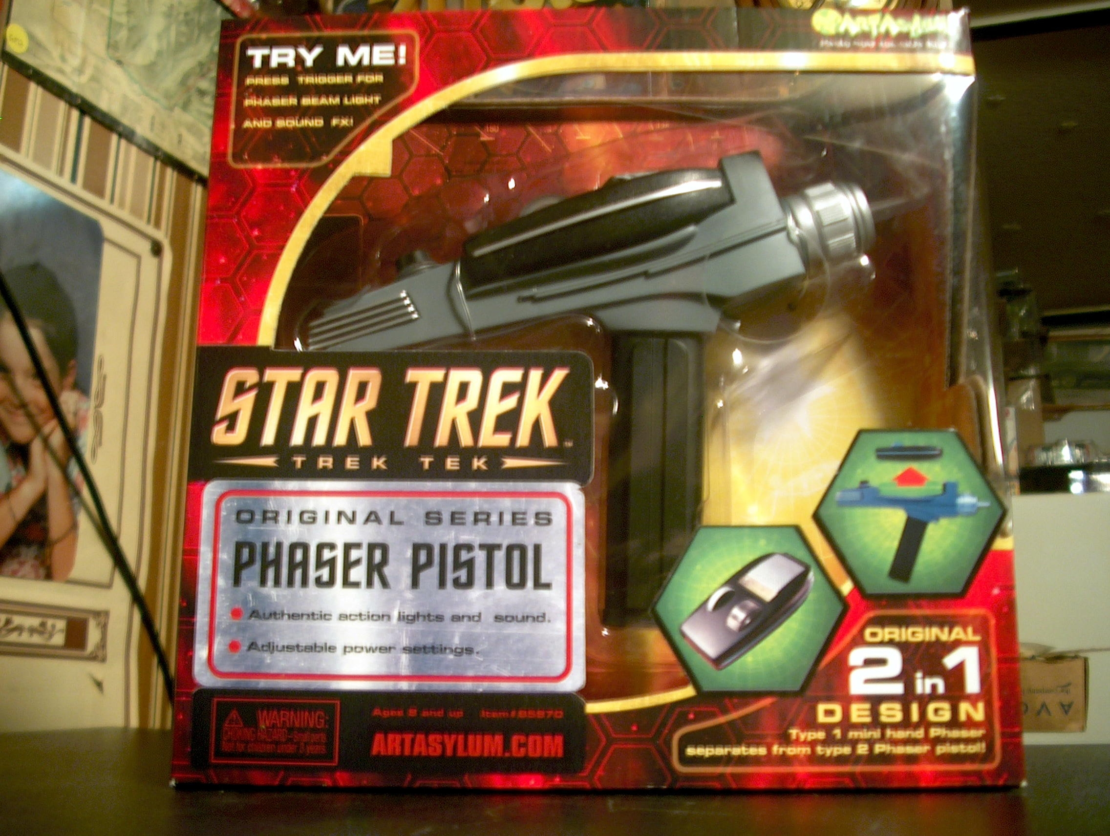Phaser Pistol-original series