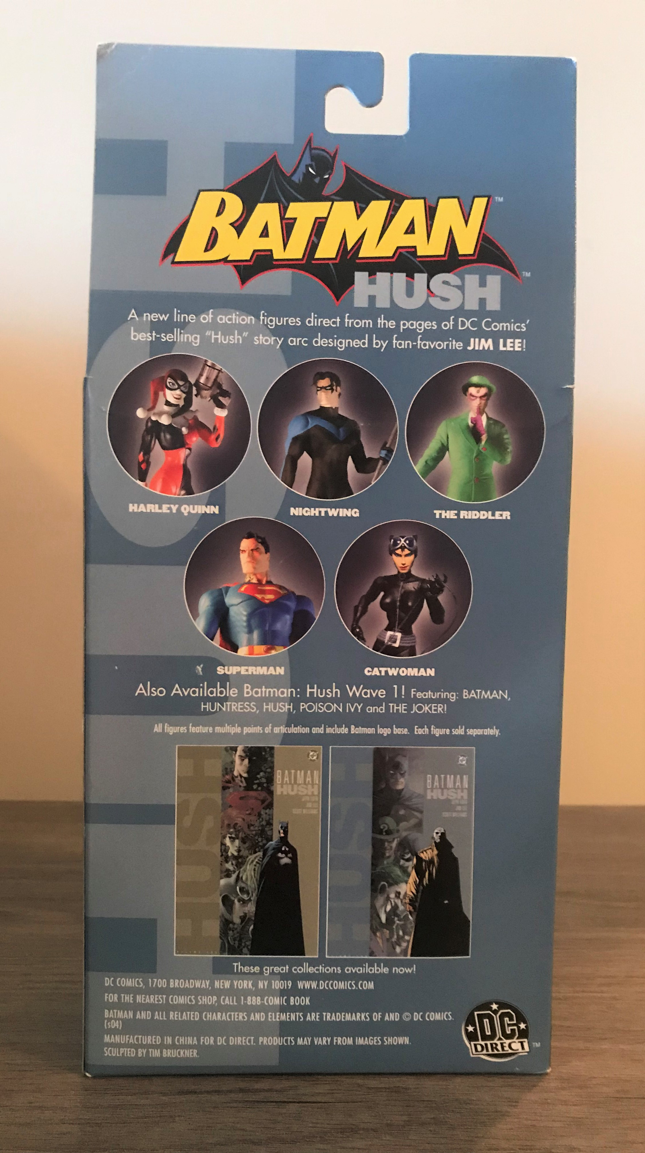 DC Direct Batman Hush Series 2, Harley Quinn Collector Action Figure 761941243740 DC Direct