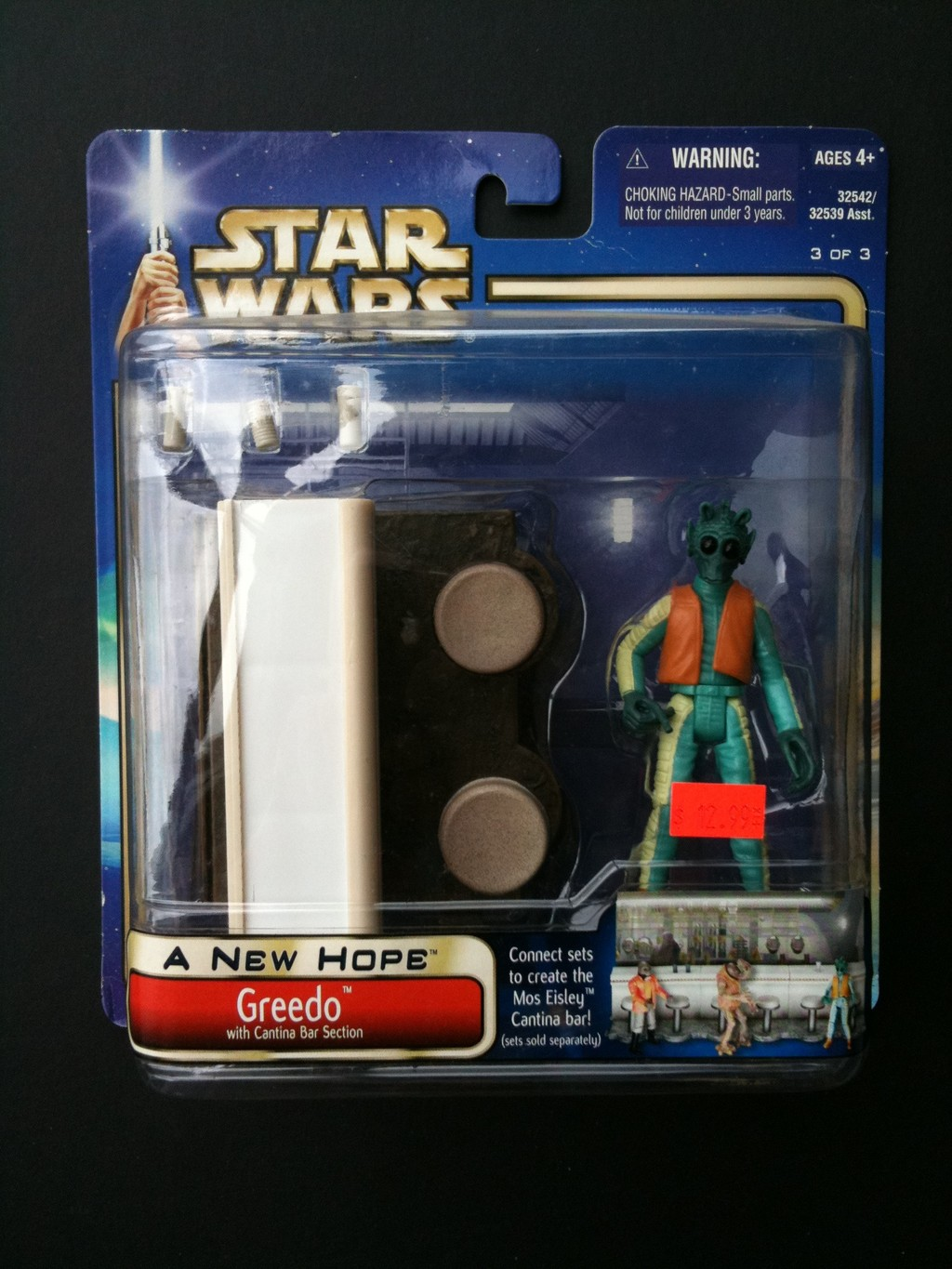 Greedo (with Cantina Bar Section)