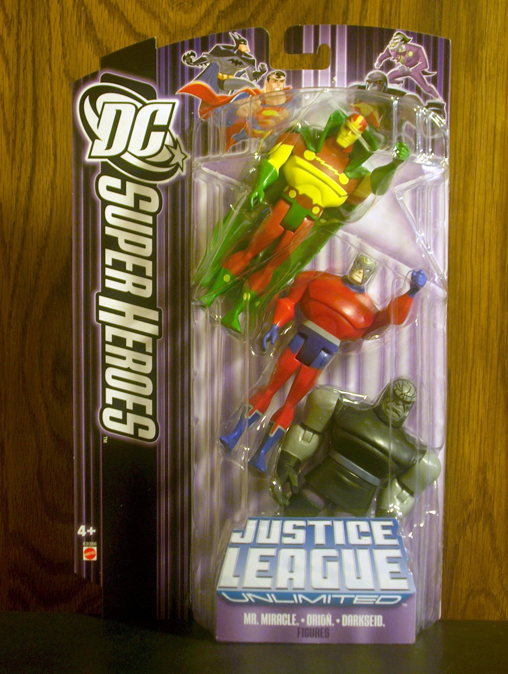 Mr. Miracle - Orion - Darkseid (3-Pack)