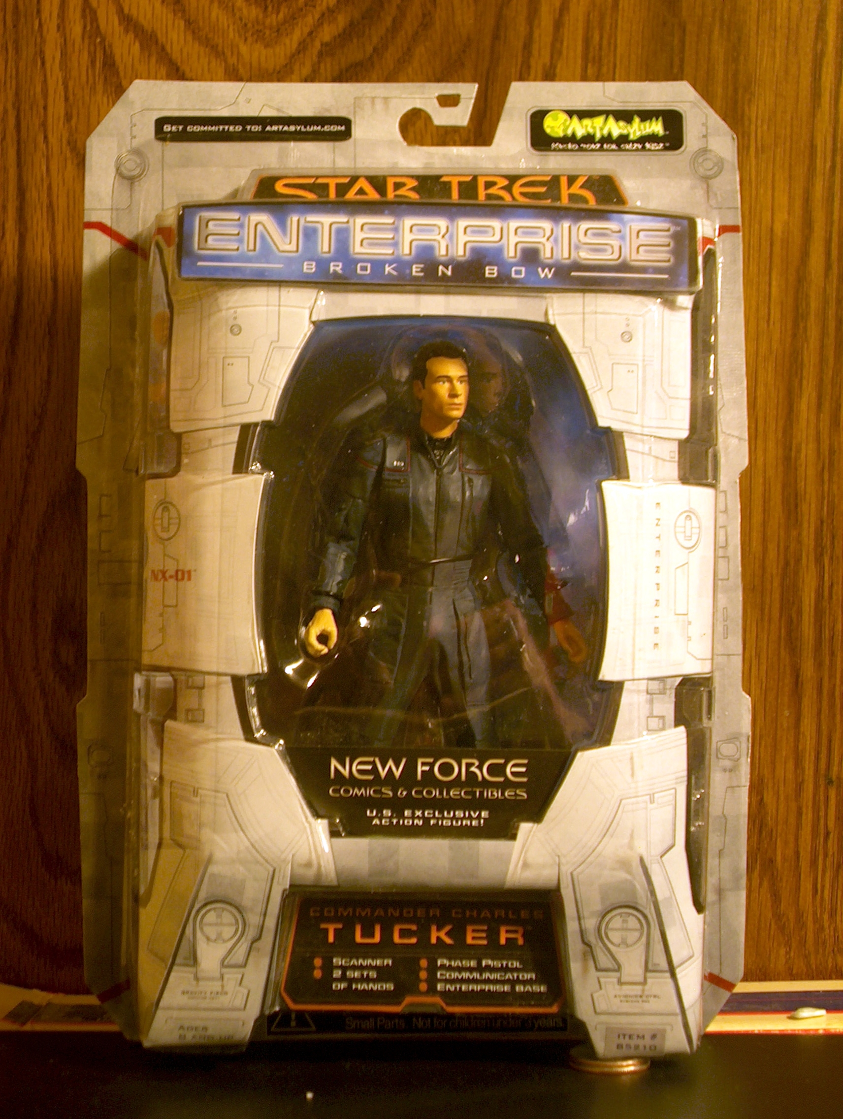 Commander Charles Tucker (New Force Comics & Collectables)