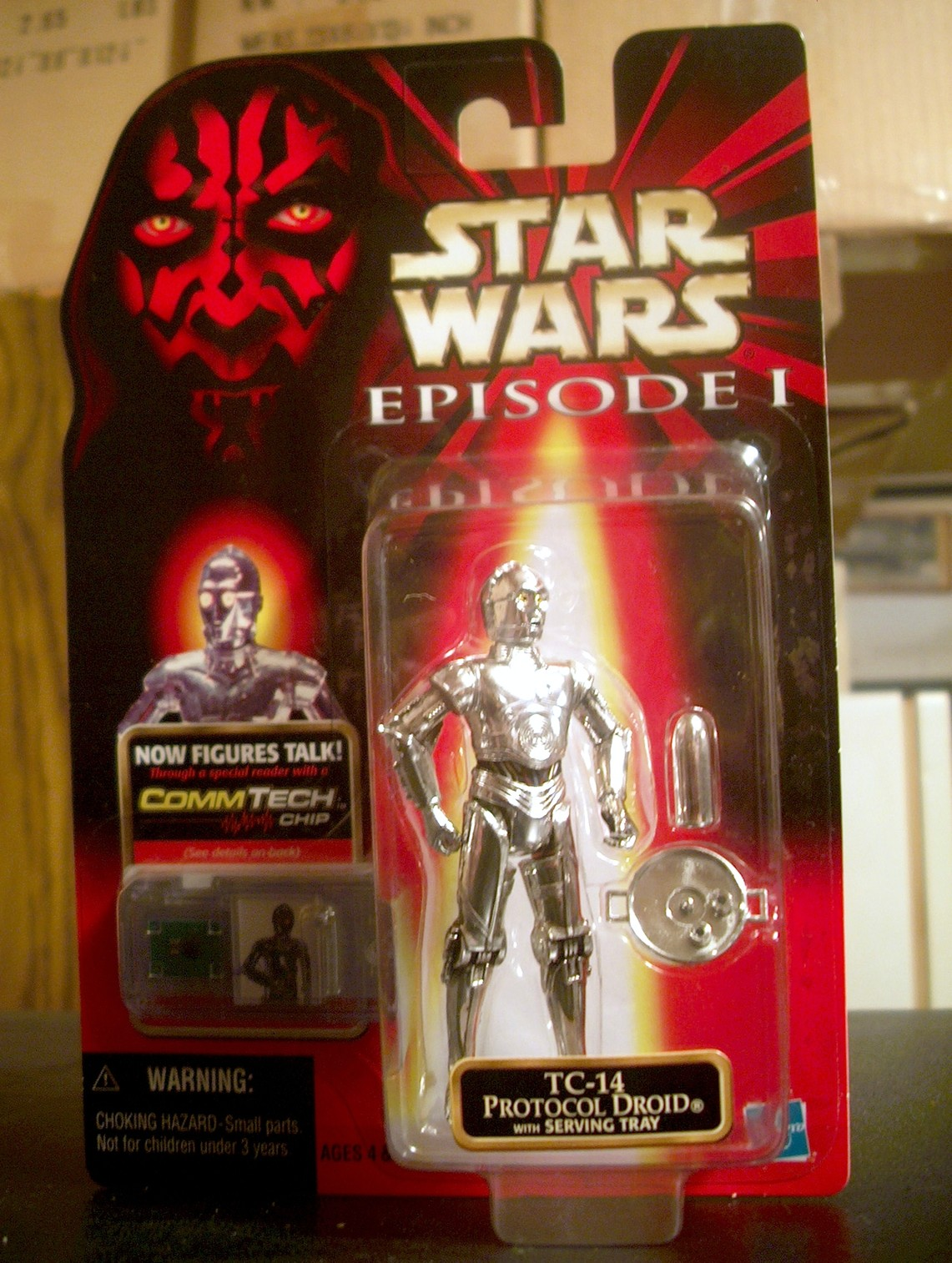 TC-14 Protocol Droid with Serving Tray