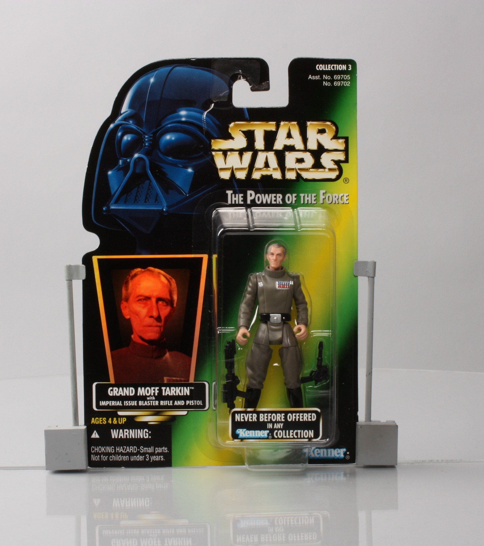 Grand Moff Tarkin with Imperial Issue Blaster Rifle and Pistol