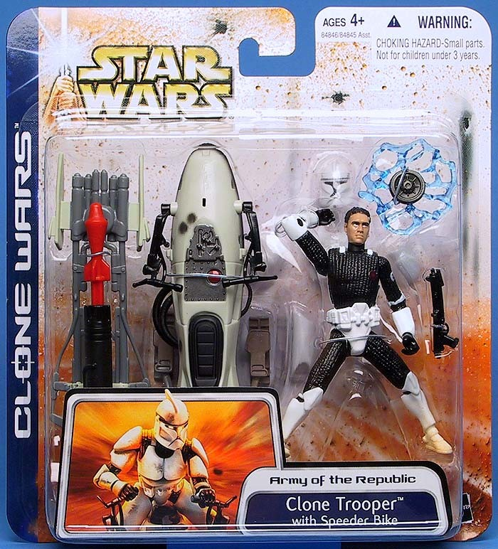 Clone Trooper (with Speeder Bike)
