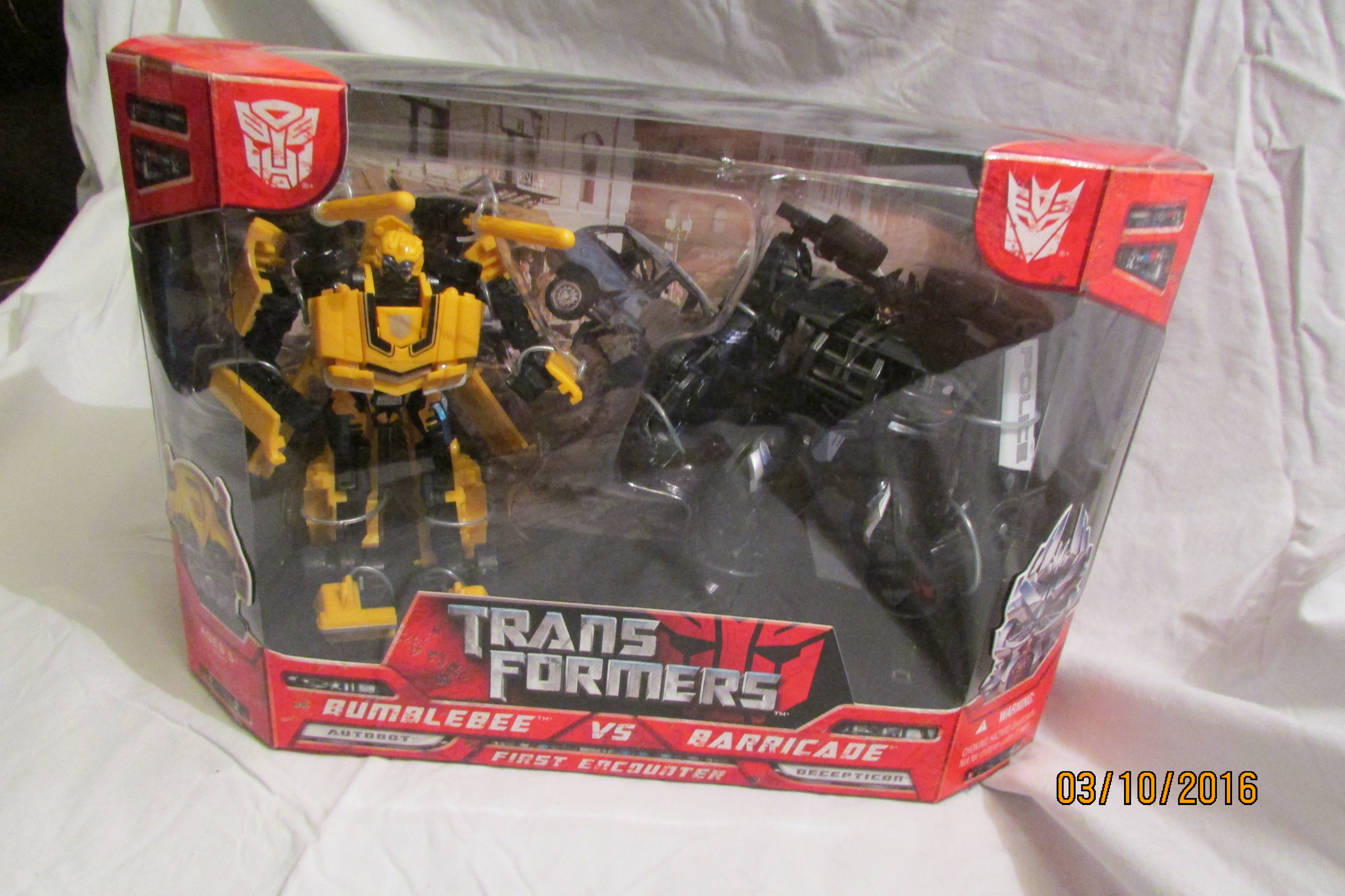 First Encounter (Bumblebee - Barricade) (2-Pack) (Wal-Mart Exclusive)