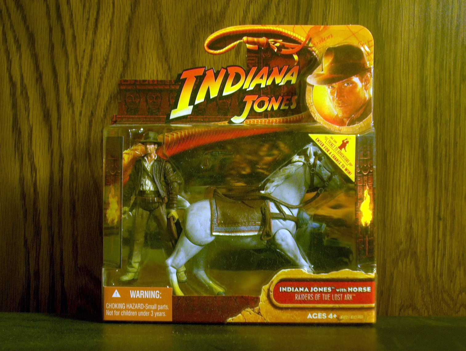 Indiana Jones with Horse