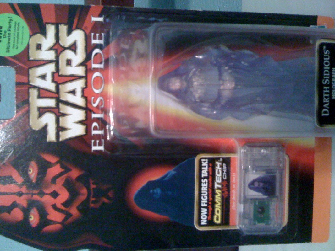 Darth Sidious Holograph (Ultimate Party sticker)