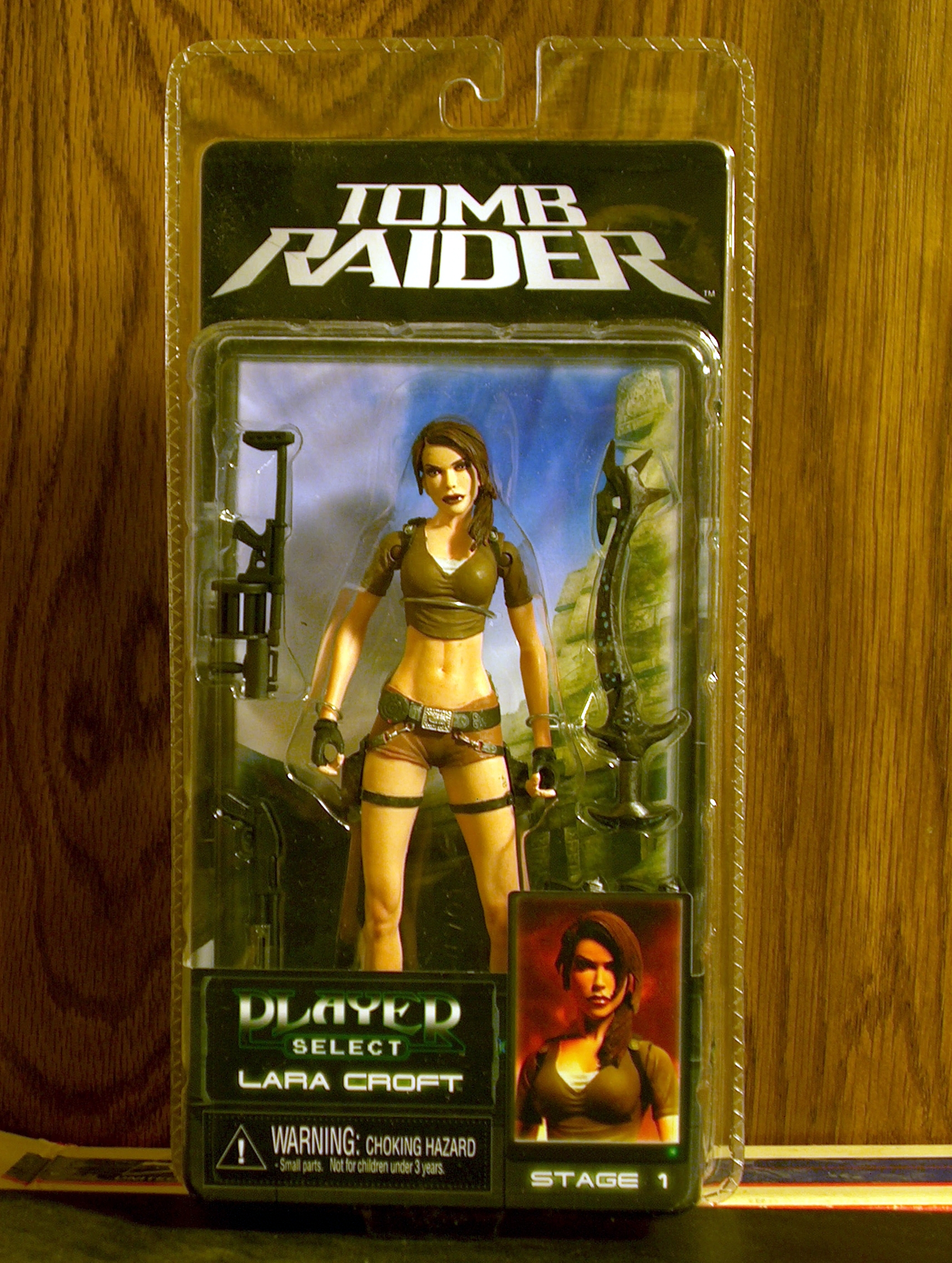 Lara Croft (Player Select Stage 1)