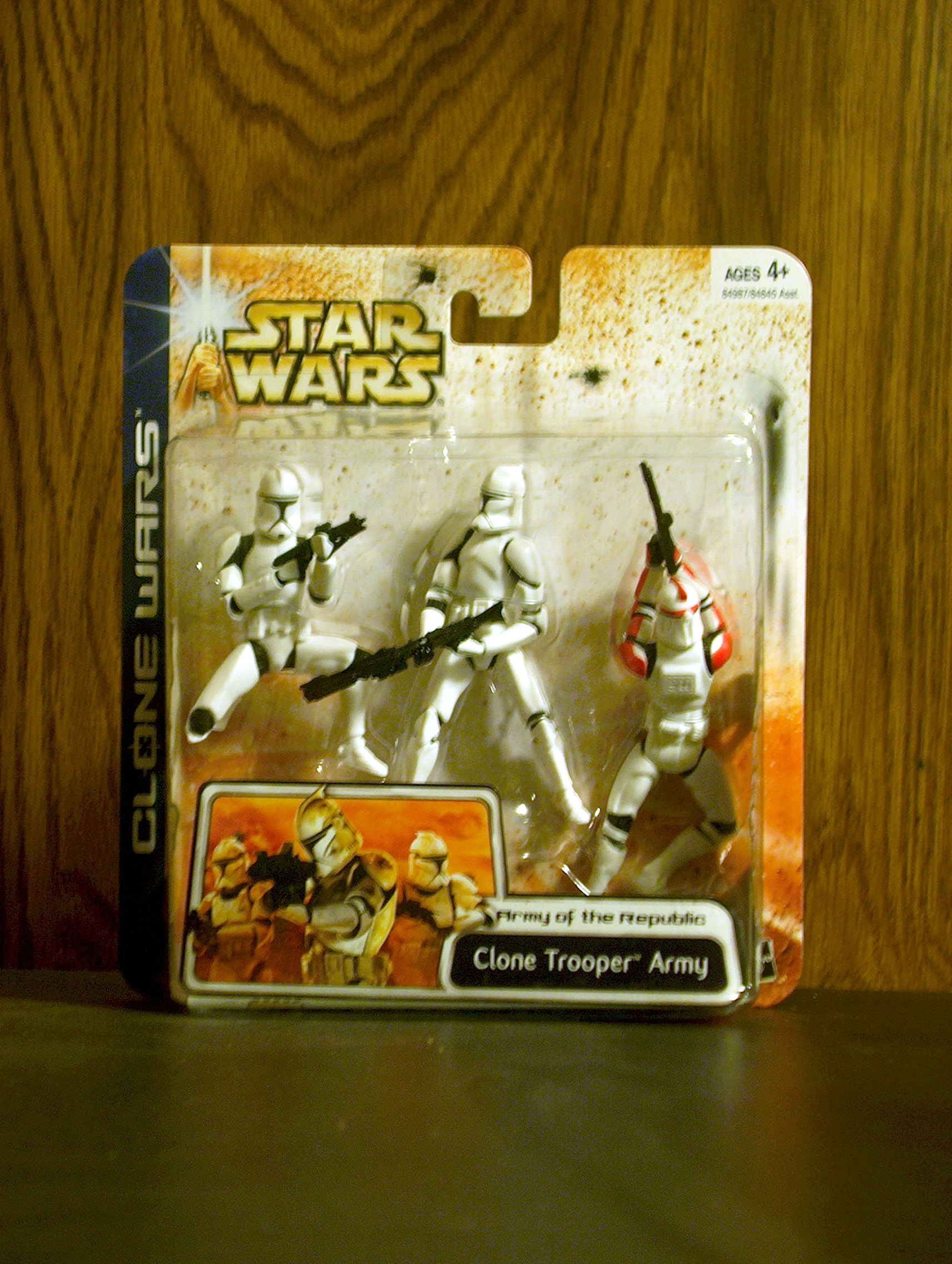 Clone Trooper Army (Red) (3-Pack)
