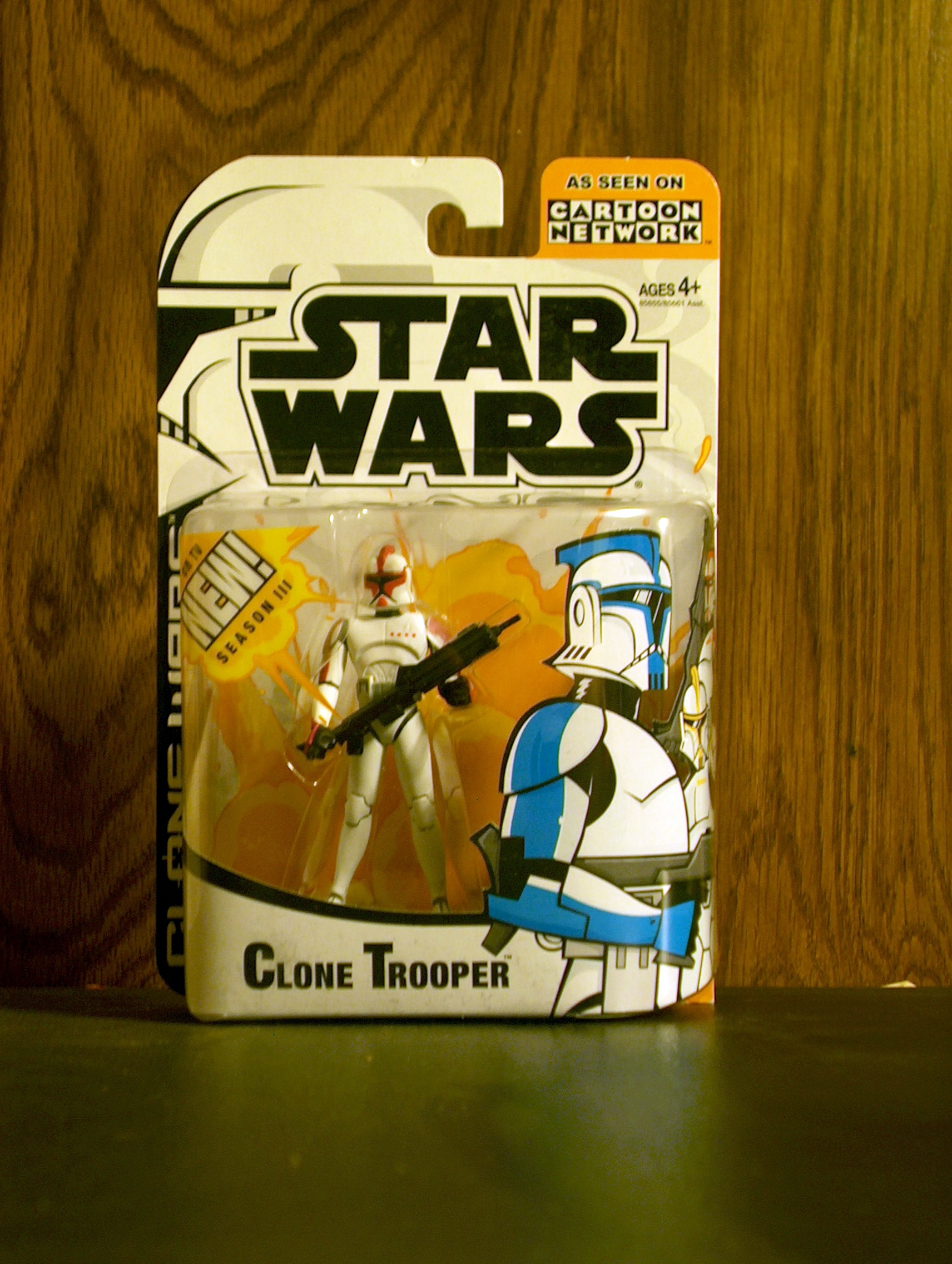 Clone Trooper (Captain, Red)