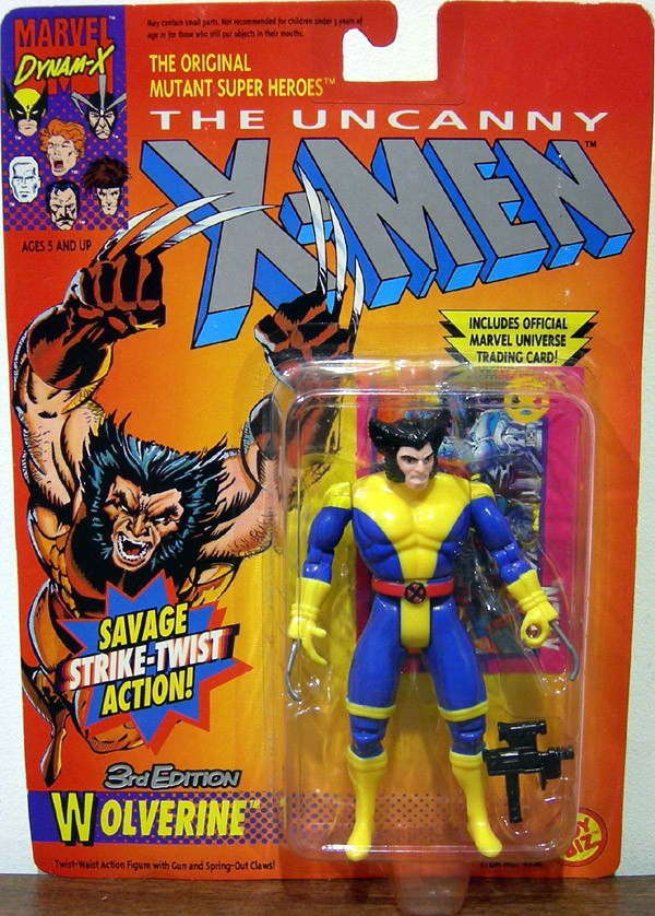 Wolverine - 3rd Edition (blue legs)