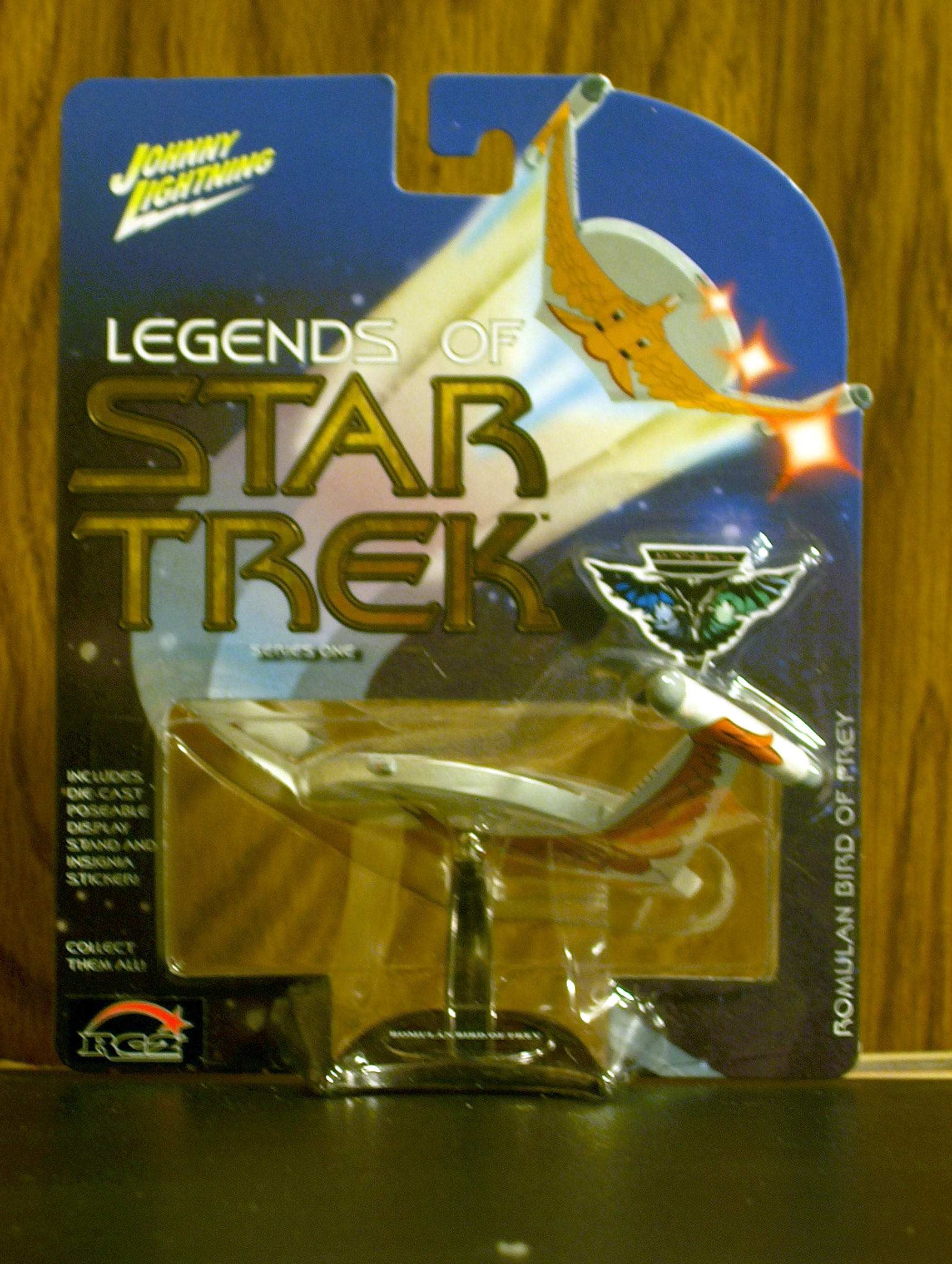 Romulan Bird of Prey (White)