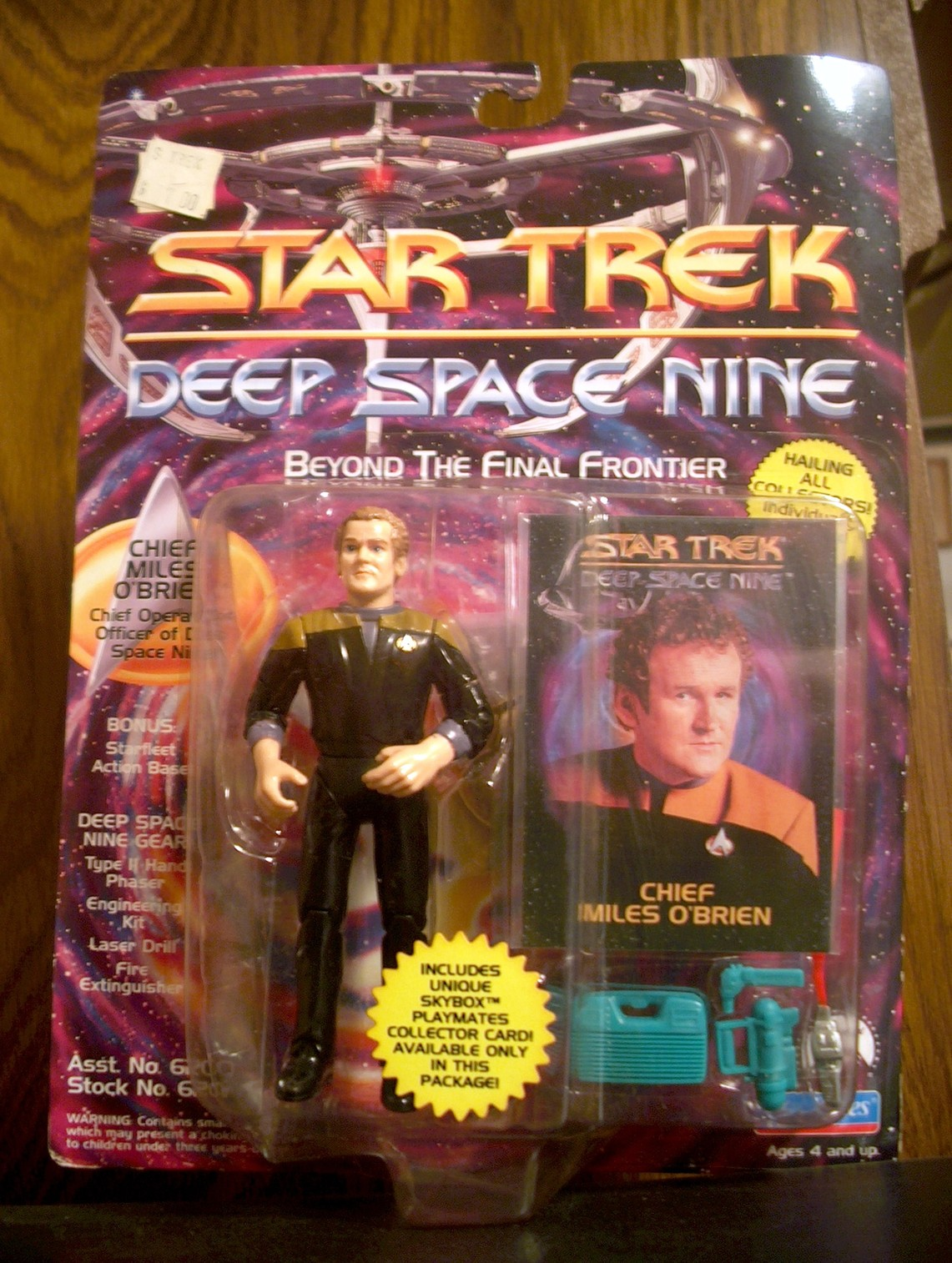 Chief Miles O'Brien (Chief Operations Officer)