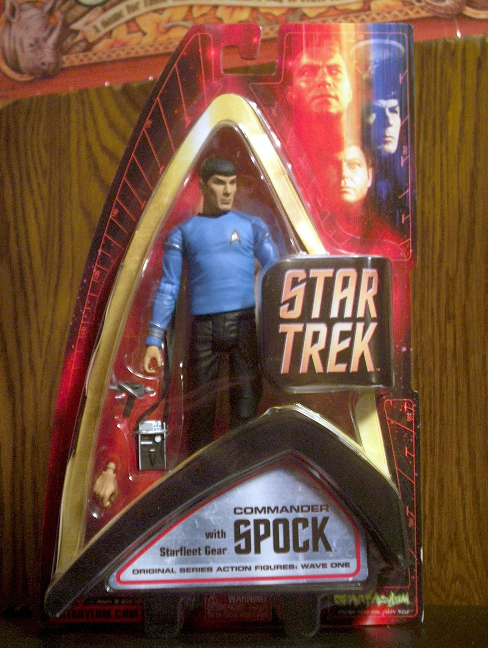 Commander Spock with Starfleet Gear