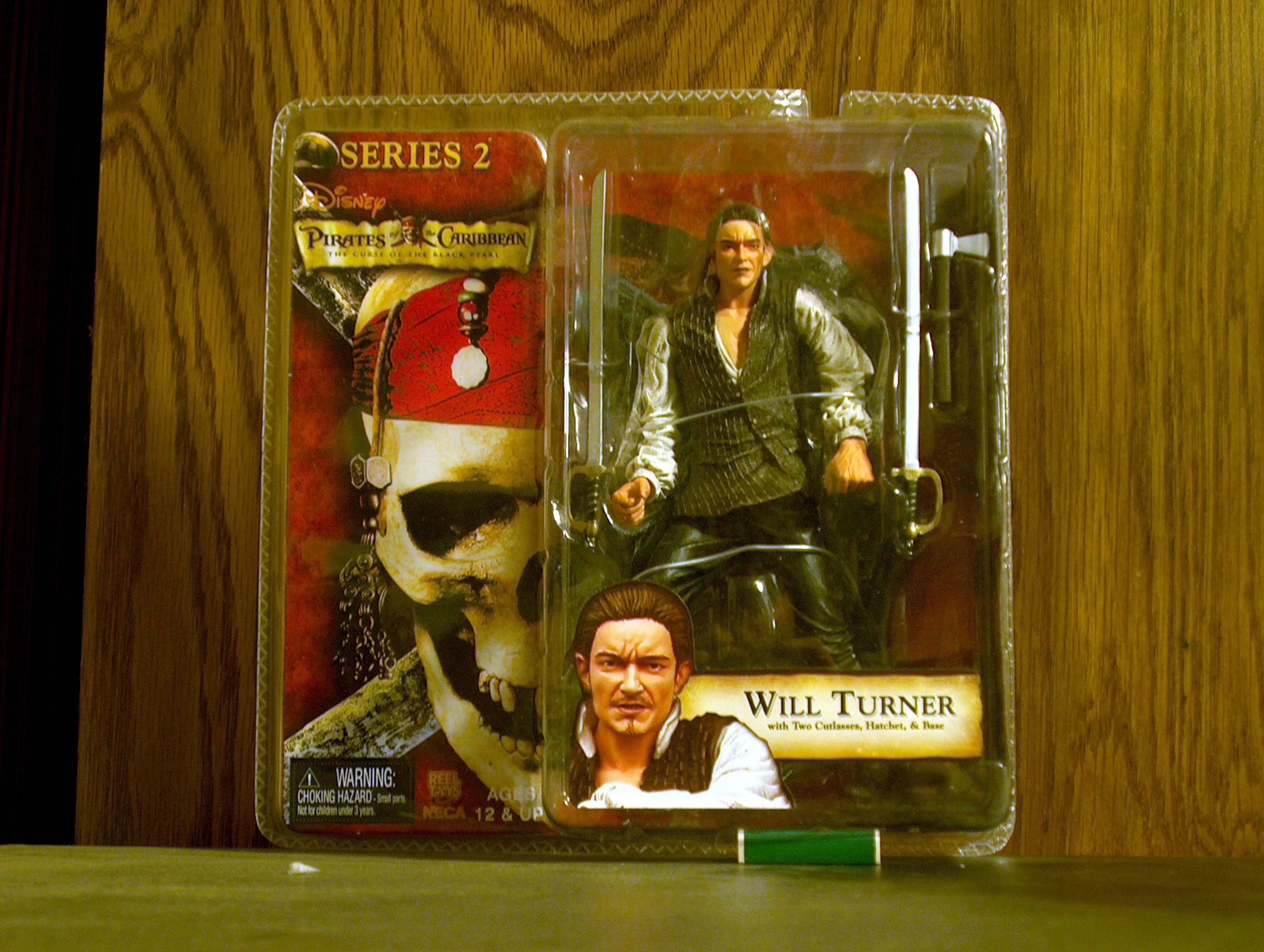 Will Turner with Two Cutlasses, Hatchet, & Base