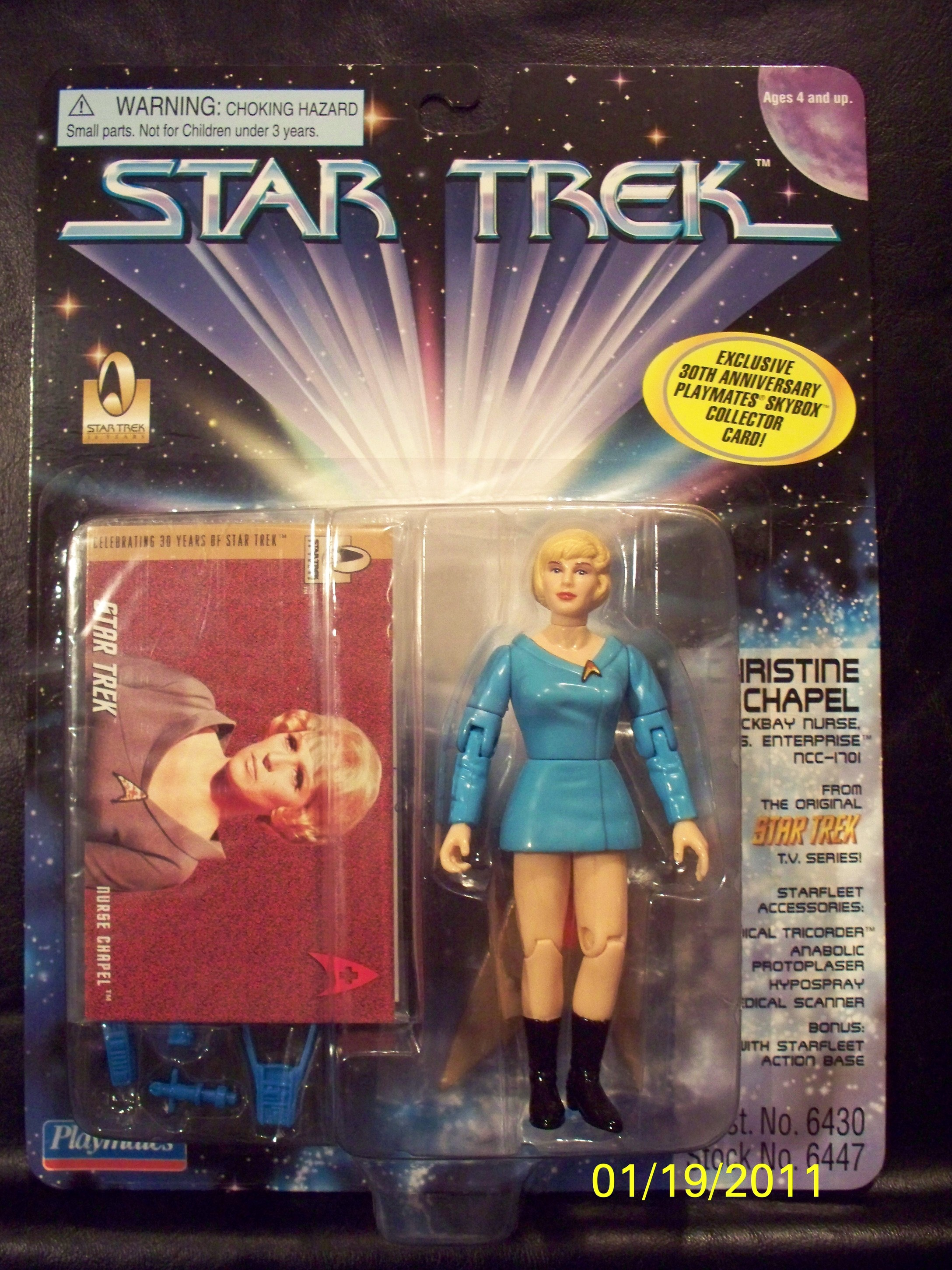 Christine Chapel (Sickbay Nurse U.S.S. Enterprise NCC-1701)